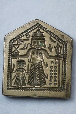 Bronze Intaglio Jewelry Making Die Dye Seal Stamp Punze INDIA - P 17