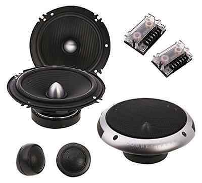 Soundstream PF.6 Picasso Component 6.5-Inch 2-Way 350W Speaker Set