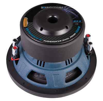 Soundstream R3.8 500W 8-Inch Reference R3 Series Dual 2 Ohm Subwoofers