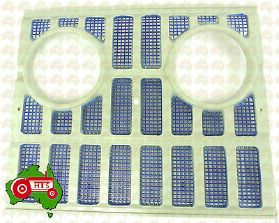 Tractor Front Grille Grill Plastic W Light Holes 2000 3000 4000 5000 7000 7200
