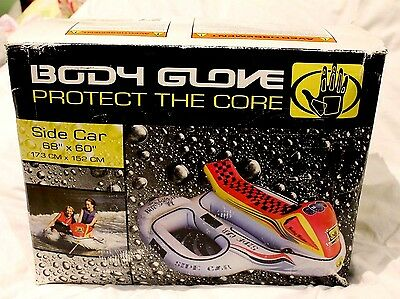 Body Glove Side Car BG8578 3 Person SURF WATER SKI TUBE INFLATABLE 173 CM's RARE