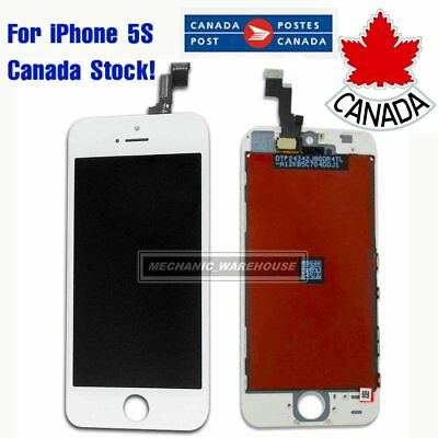 White Replacement LCD Digitizer Display Touch Screen+Tools For Apple iPhone 5S
