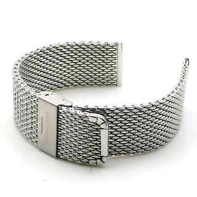 Rerii 22mm Universal Stainless Steel Watch Band Strap for Samsung Galaxy Gear 2