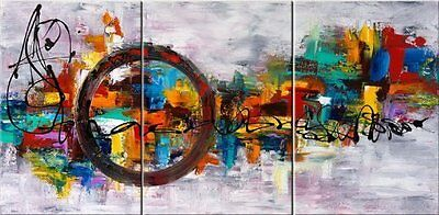 Large Modern Contemporary Abstract Oil On Canvas Painting Wall Art Decoration