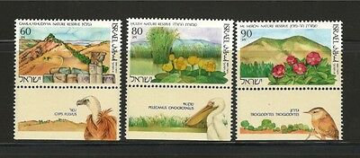Israel  Stamps 1990 Nature Reserves In Israel Mnh Vf. 2 (G-009)