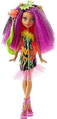 """Monster High DVH70 """"Electrified Monstrous Hair Ghouls Clawdeen Wolf"""" Doll"""