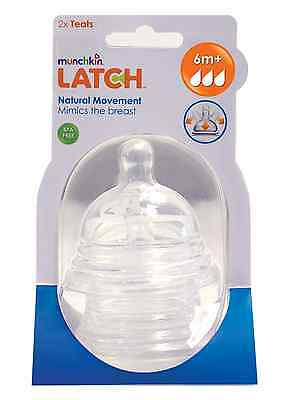Munchkin Latch Stage 3 Teat (Pack of 2)