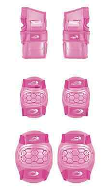Boys Girls Childs Osprey Skate Cycle Knee, Elbow, Wrist Protection Pads Set - Pi