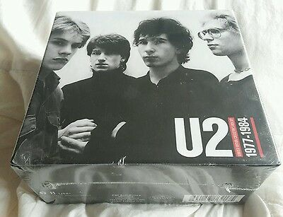 U2 1977-1984 Limited Edition Collector's Box (3 CD albums & Poster) *sealed*