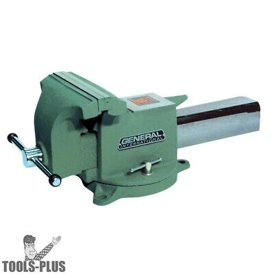 """General Woodworking Machinery 95-960 6"""" Swivel Base Bench Vise New"""