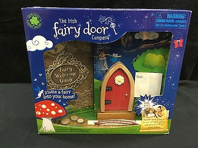 The Irish Fairy Door - Red Arched *NEW*