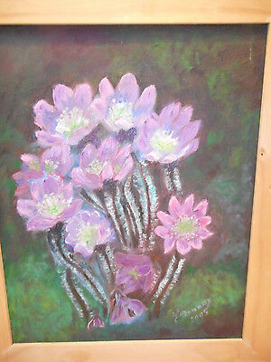 Original Oil Painting on canvas - WILD FLOWERS