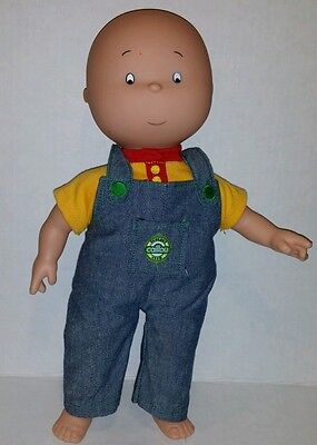 "Calliou 13"" Doll with overalls"