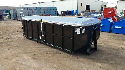 Storm-Top Roll Off Container Cover- Standard Version (Model St-3000-S)