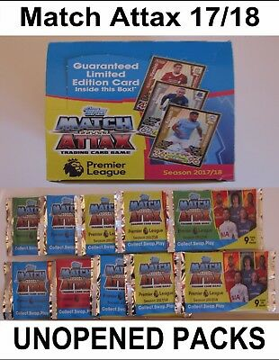 Champions League 16/17 UNOPENED PACKS Match Attax 2016/2017 Box Card Full Packet