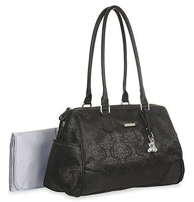 "Baby Boom  ""Little Me"" Black Duffle Diaper Bag"