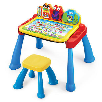 VTech Touch and Learn Activity Desk Deluxe Interactive Learning System PreSchool