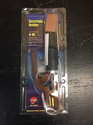 New Jackson Safety Products Arc Welding Electrode Holder 300Amp A-W 0700-0019