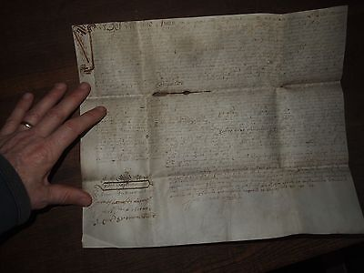 1686 VELLUM DOCUMENT FROM REIGN of JAMES II