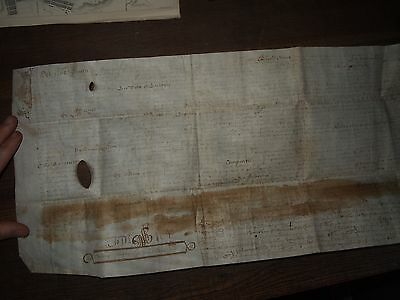 1672 Vellum Document From Reign Of King Charles Ii