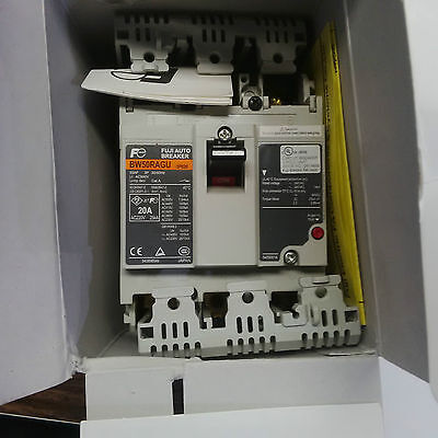 New Fuji Auto Electric Circuit Breaker 20A 20Amp Bw50Ragu