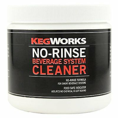KegWorks No-Rinse Beverage System Cleaner...NEW