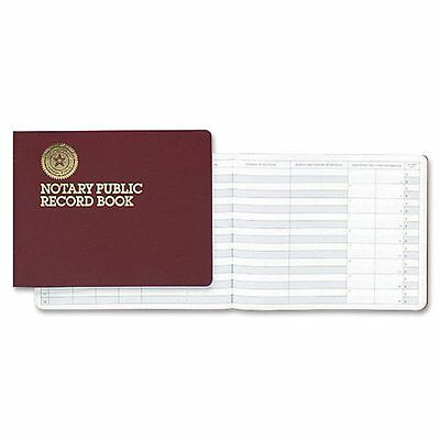 Dome Notary Public 8 1/2 x 10 1/2 Inch 60-Page Record Book (880)...NEW