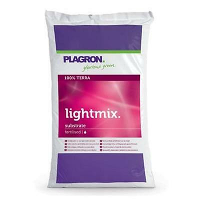 PLAGRON LIGHTMIX LIGHT MIX 50L SUBSTRATO TERRICCIO MEDIUM FERTILIZZATO g