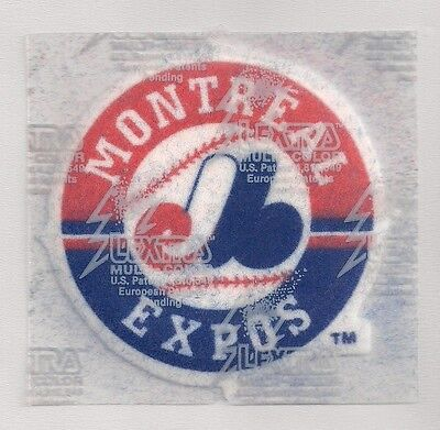 """Montreal Expos Lextra Multi Color Iron-on Patch 3"""" Beautiful!"""
