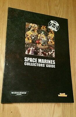 Space Marines Collectors Guide Third Edition Warhammer 40K Games Workshop 2005