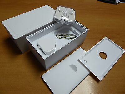 Iphone 6 Box Only includes Headphones, Lighting Cable, USB Charger Plug