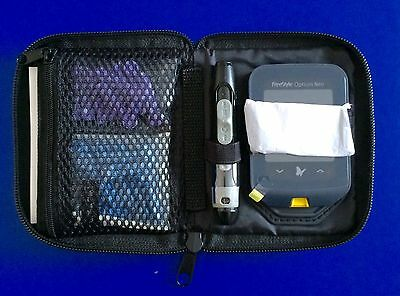 Carry Case For Diabetic Meter & Accessories - Secure Zip - Brand New - RRP £17