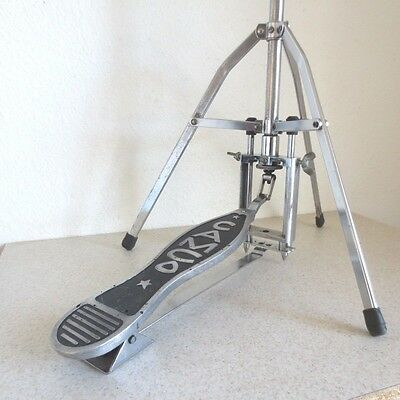 1967 Camco Drum Co. Direct Pull Model 900S Hi Hat Stand Oaklawn SOLID FOOTBOARD!