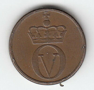 Norway coin 1964 1 KM#403  c427