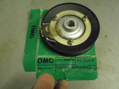 Fiat 600 Multipla 850  new water pump pulley  microcar