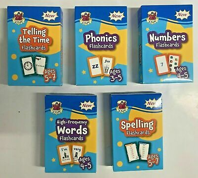 New Letts Make it Easy English & Maths Workbooks Children Age 5-6 KS1 Year 1