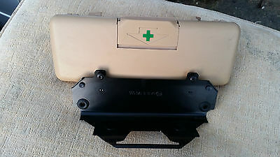 BMW 5 SERIES E38 E39 M5 FIRST AID KIT COMPLETE with BRACKET in BEIGE 740 530 528