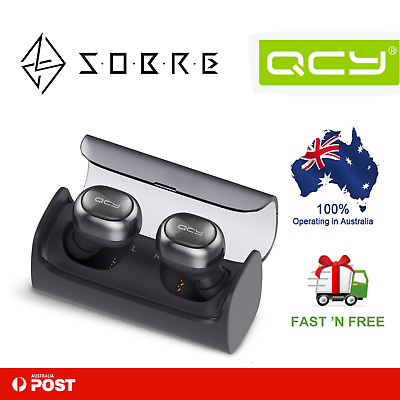 QCY Q29  Stereo Wireless Bluetooth In-Ear Earbuds Headsets Sports Earphones NEW