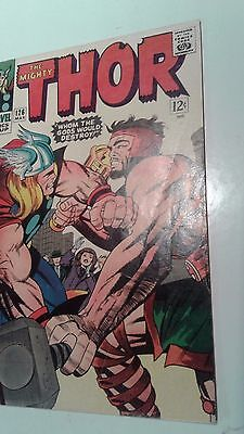 Thor #126 (Mar 1966, Marvel) - VERY FINE - NM - OW-PAGES ORIGINAL OWNER