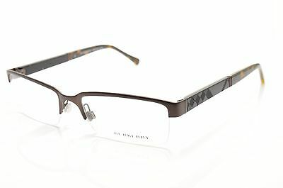�� B 1267 1012 New Authentic BURBERRY Rx EYEGLASSES FRAME 55-17-145 Italy