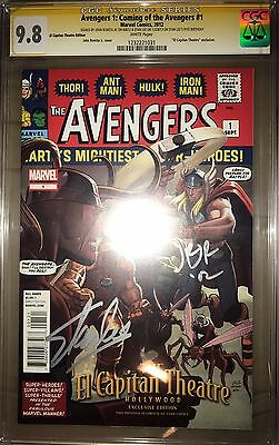 Avengers 1: Coming Of the Avengers #1 CGC SS 9.8 Romita & Stan Lee 91st BDAY!
