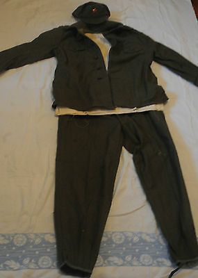 Albania Communism Time Military Uniform Completed Extra Rare See Description