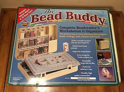 THE BEAD BUDDY Complete Beadcrafter's Workstation & Organizer -NEW!