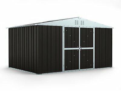 Garden Shed 3.83m x 2.69m x 2.17m Ironsand Large Storage Sheds Cheap Steel NEW