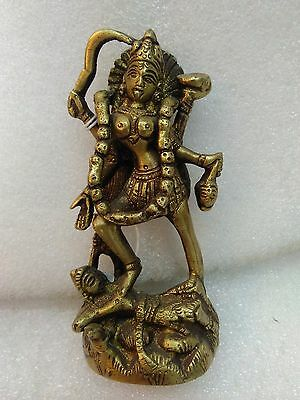 GODDESS KALI CONSORT OF SHIVA STATUE DEITY OF TIME AND CHANGE Bhavatārini A10