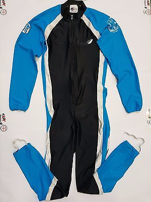 Completo Salopette Ciclismo Ice Academy Kont Tg.s Cycles Team Cycling Bike 156