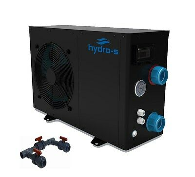 Hydro-S Wärmepumpe Typ 12 mit Bypass-Set Universal POOLHEIZUNG POOL HEIZUNG ECO