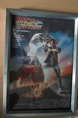 Back to the Future Movie Poster framed print sale