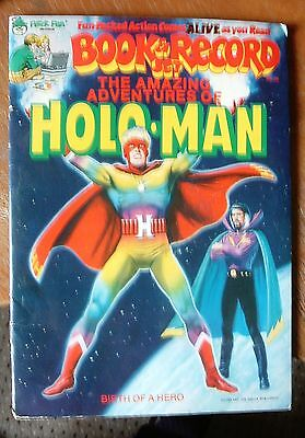 THE AMAZING ADVENTURES OF HOLO MAN  - Vol 1 - No 1 - COMIC AND RECORD 1978