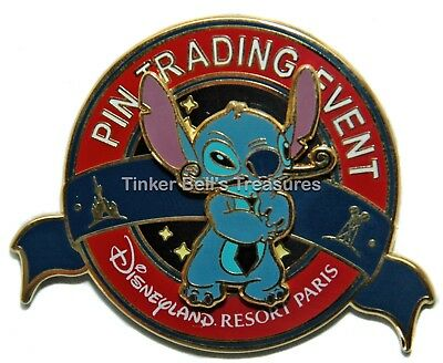 DISNEY Pin LE 400 DLP - Stitch as Dali - Pin'Art Pin Trading Event Pin - Paris